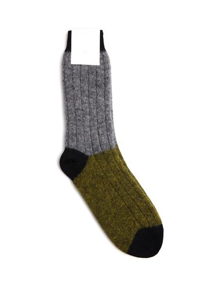Haider Ackermann Wool Socks - Khaki