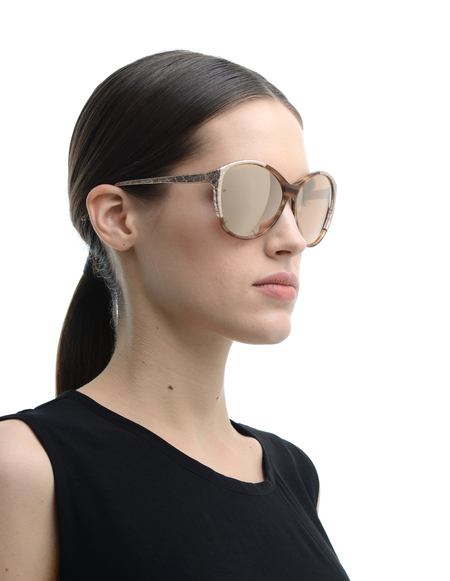 Linda Farrow Luxe Sunglasses - Golden