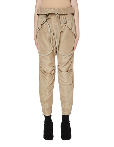 Faith Connexion Silk Trousers - Beige