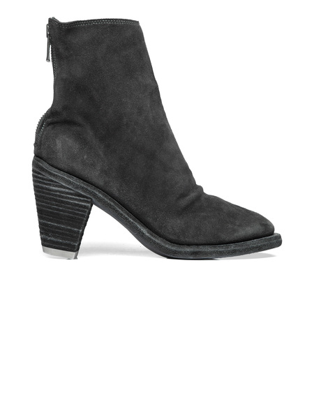 Guidi Suede Ankle Boots - Dark Grey