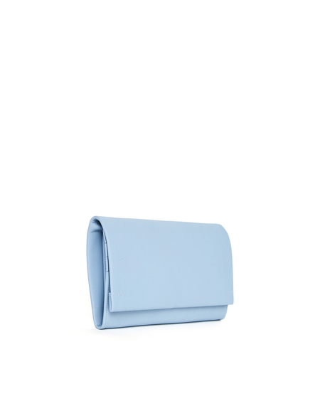 Isaac Reina Leather Wallet - Blue