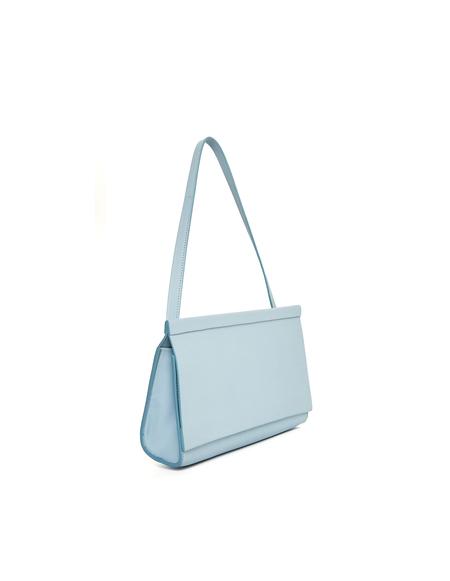 Isaac Reina Leather Clutch Bag - Blue