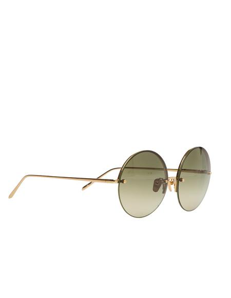 Linda Farrow Luxe Sunglasses - green