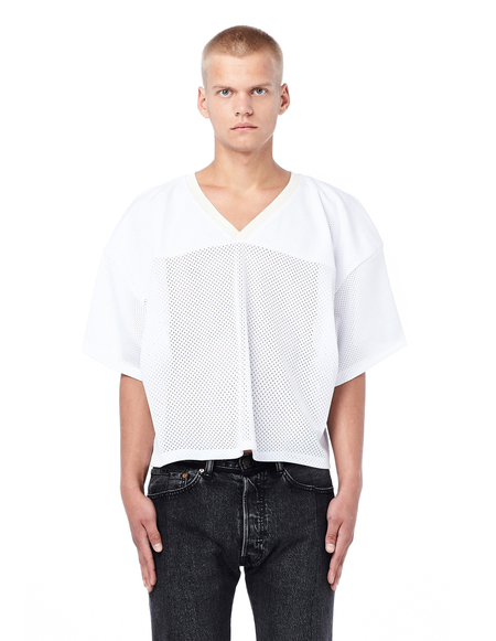 Fear of God Mesh Football Jersey - White