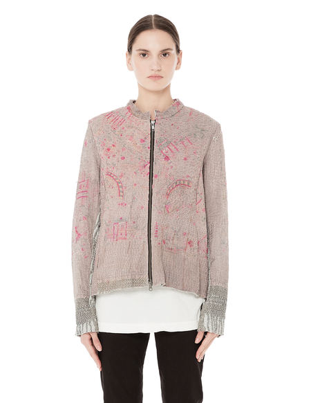 By Walid SVMOSCOW exclusive bomber jacket - Beige