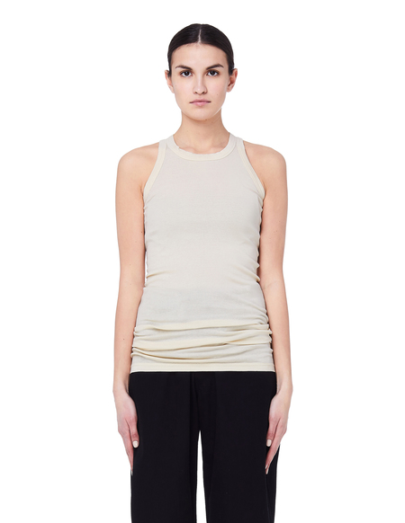 Rick Owens DRKSHDW Cotton Tank Top - Beige