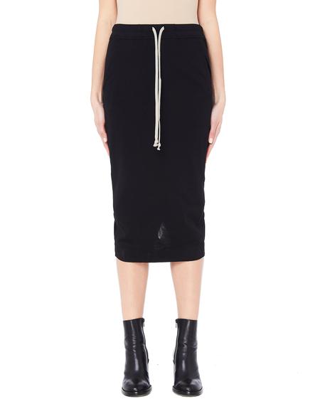 Rick Owens DRKSHDW Cotton Skirt - Black