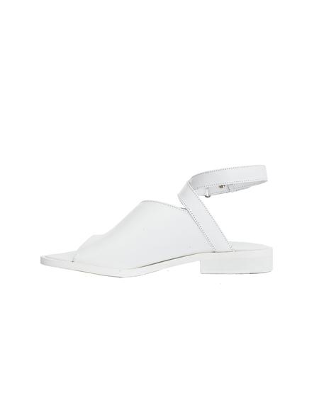 A.F.Vandevorst Leather Sandals - White