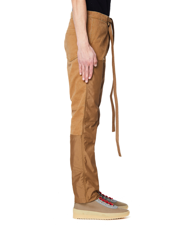 Fear of God Nylon Canvas Double Front Work Pants