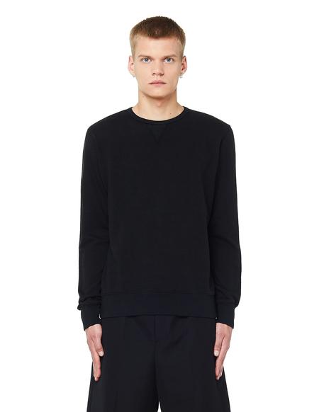 120% Lino Cotton/Linen Sweatshirt - Black