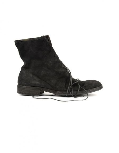 Guidi Suede Boots - Black
