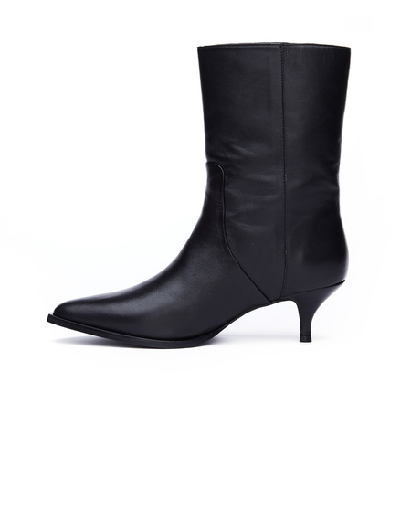 A.F.Vandevorst Leather Ankle Boots - Black