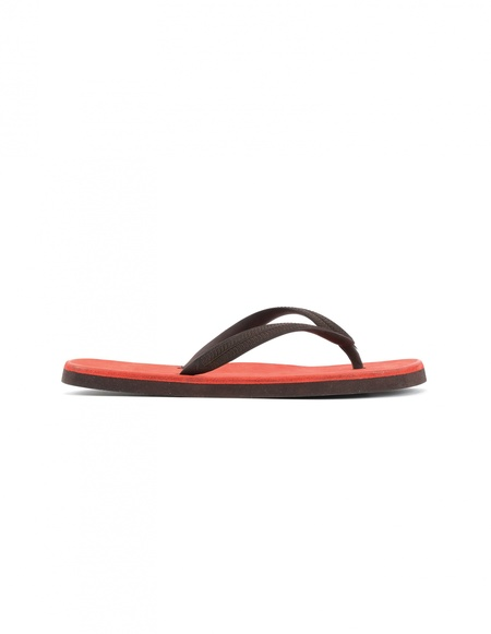 Guidi Leather and Rubber Flip-flops