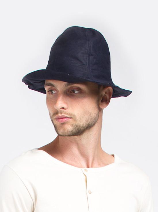 Men's Fingers Crossed Bucket Hat - Navy