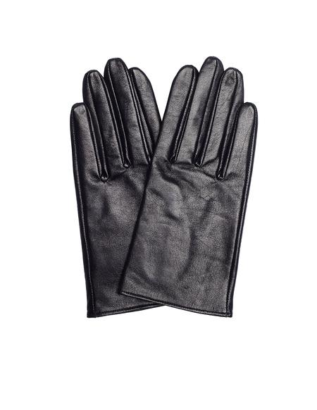 Yohji Yamamoto Leather Gloves - Black