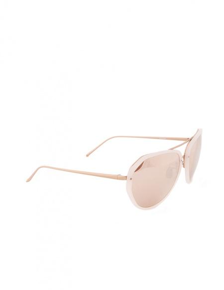 Linda Farrow Luxe Sunglasses - Pink