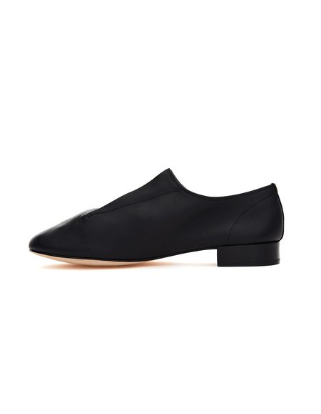 Yohji Yamamoto Repetto Leather Loafers - Black