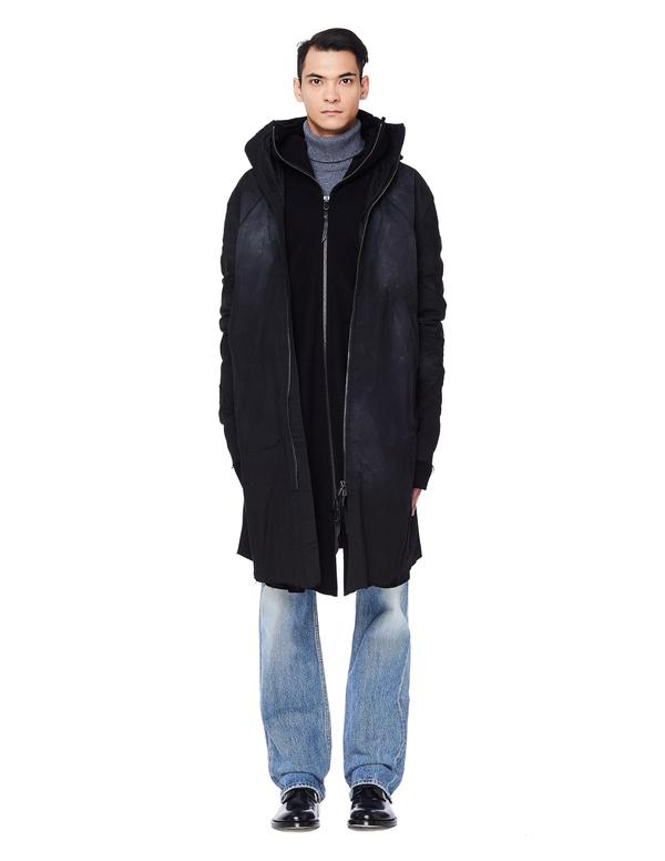 Leon Emanuel Blanck Parka Coat - Black