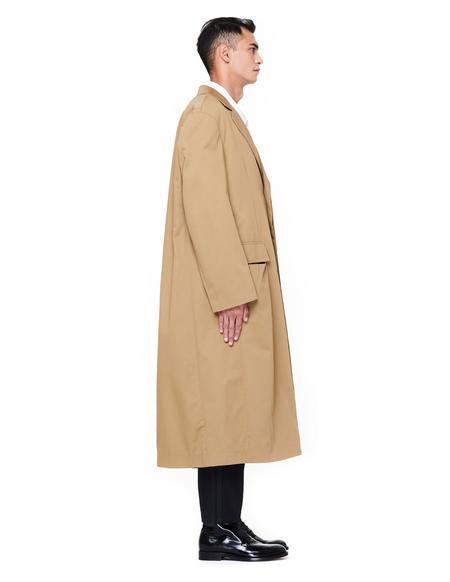 Haider Ackermann Cotton Coat - Beige