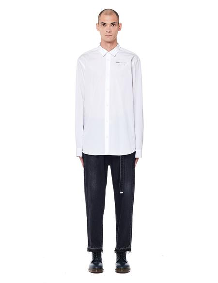 Doublet Cotton/Cashmere Jeans - Black