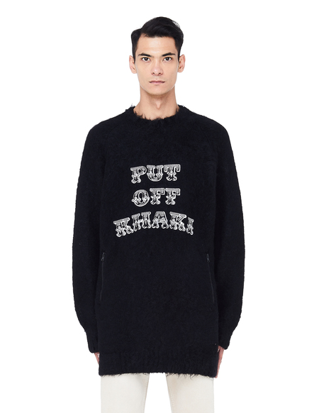 JohnUNDERCOVER Embroidered Sweater - Black