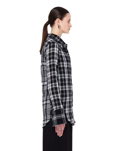 If Six Was Nine Cotton & Linen Malibu Shirt - Checked