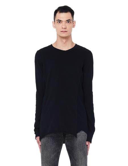 L.G.B. Cotton Long Sleeve T-Shirt - Black