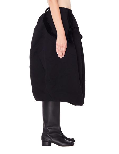 Comme des Garcons Wool Skirt - Black