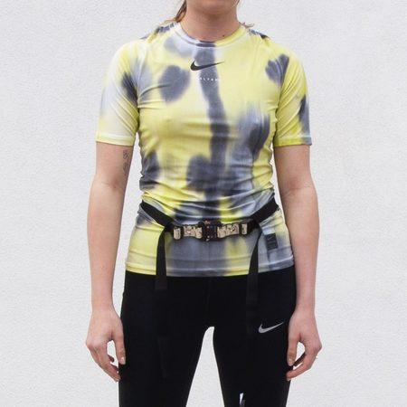 1017 ALYX 9SM Nike x MMW Sponge Camo SS Tee - Neon Camo