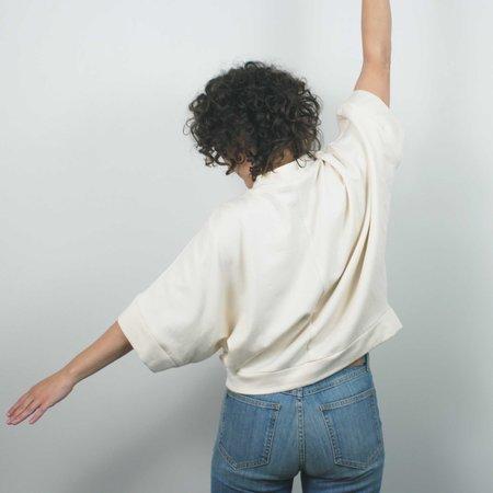 Jennifer Glasgow Razia Sweatshirt - Natural