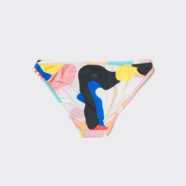 Bower Swimwear Tangiers Bikini Bottom - Julian Smith Print