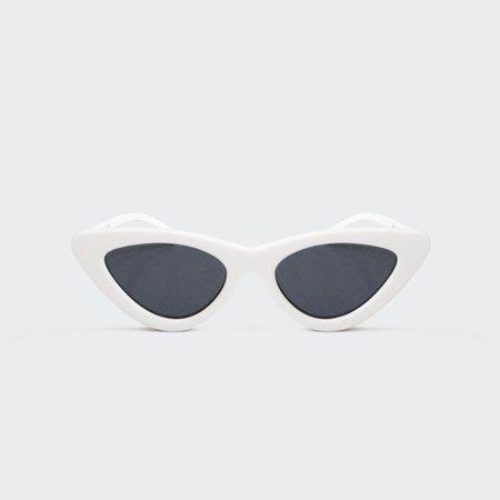 Adam Selman The Last Lolita Sunglasses - White