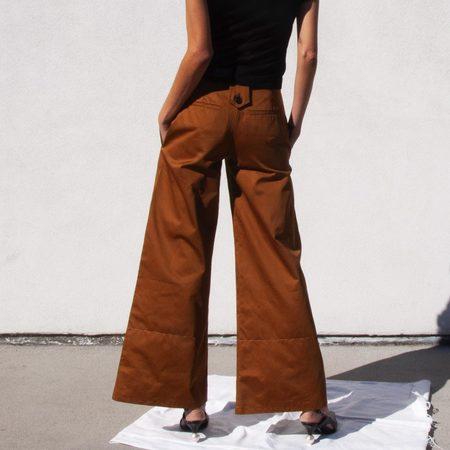 Delada Wide Leg Cargo Trousers