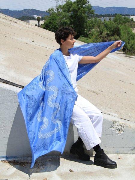 block shop arroyo scarf - aegean