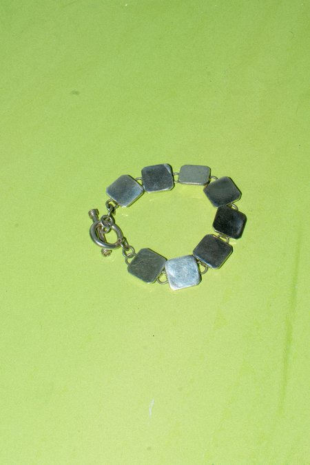 Olive Naima Braeclet - Sterling Silver