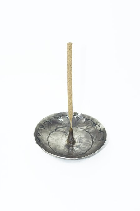 J. Alexander Stamped Incense Holder - Silver