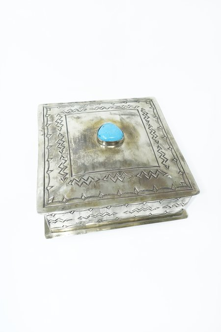 J. Alexander Stamped Box - Silver