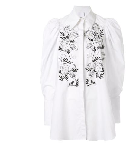 Acler Vallen Shirt - White