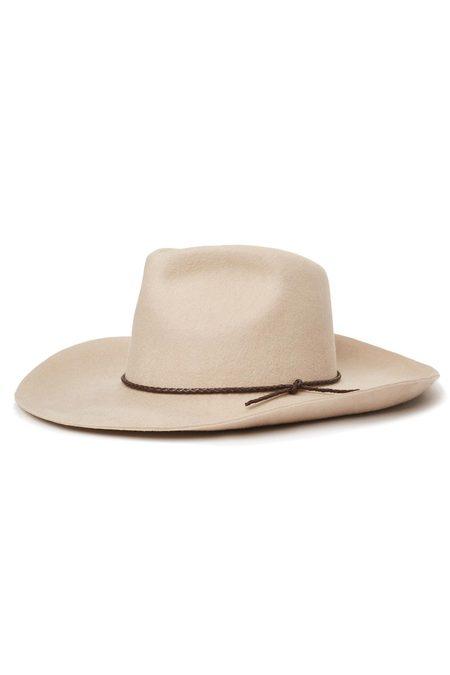 Brixton Vanilla Jenkins Cowboy Hat - greyish beige
