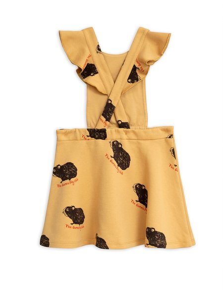 Mini Rodini Guinea Pig Dress - Yellow