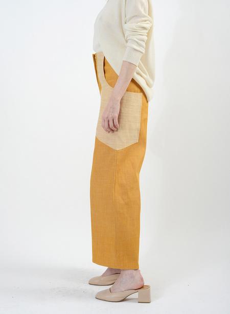 Meg Denim Lou Lou Jeans - Industrial Yellow