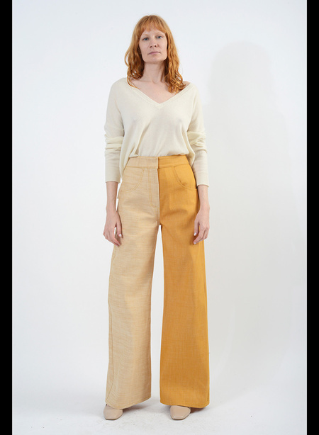 Meg Dolly Jeans - Industrial Yellow