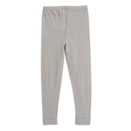 kids mini rodini tiger wool leggings - grey