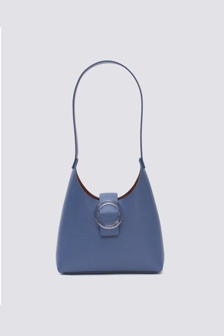IMAGO-A Nº44 Lucite Buckle Mini Bag - Bleu