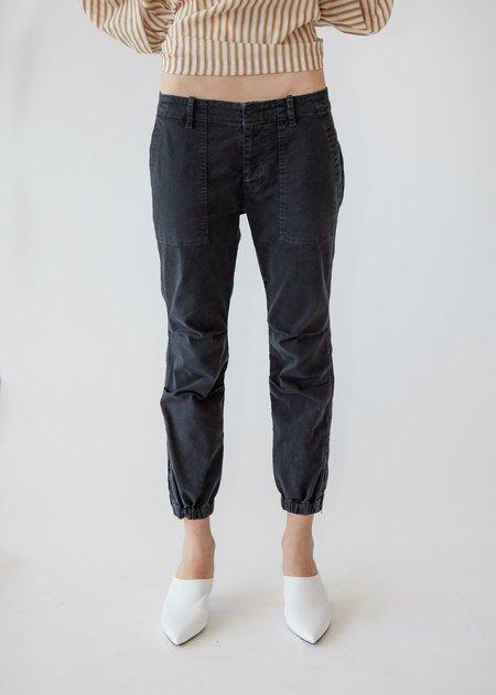 Nili Lotan Cropped Military Pant - Carbon