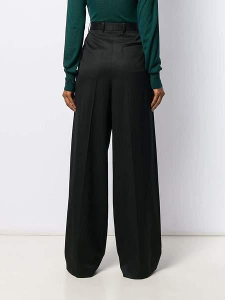 NINA RICCI Wool Gabardine Pant - Black