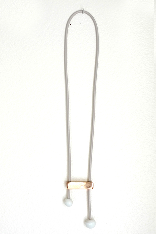 Jujumade note necklace