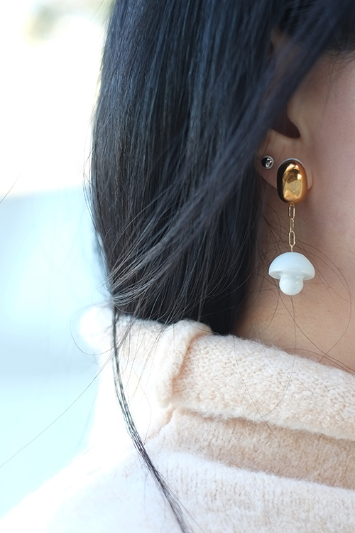 Jujumade cottage earring