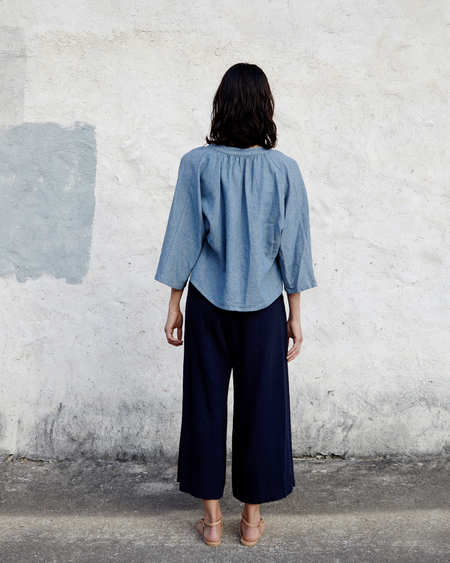 Esby Nikita Pant in Naval Canvas
