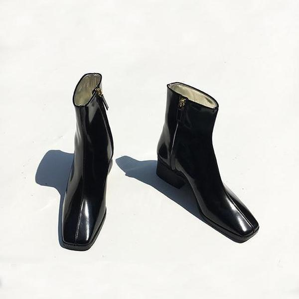 Suzanne Rae Spazzolato Leather Boots